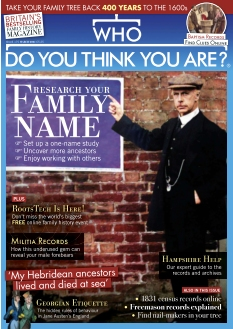 Who Do You Think You Are ? Magazine