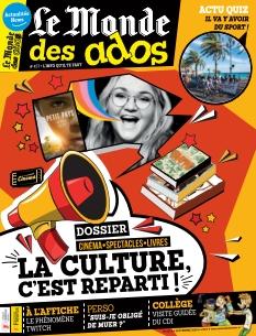Jaquette Le Monde des Ados