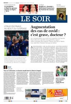 Le Soir édition Bruxelles |
