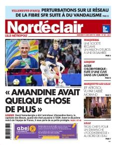 Jaquette Nordéclair Lille