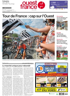 Ouest France Caen Vire |