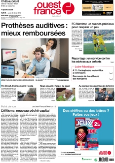 Ouest France Chateaubriant