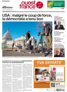 Jaquette Ouest France Guingamp