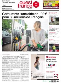 Ouest France St Nazaire La Baule Guérande |