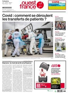 Ouest France Vire Falaise |