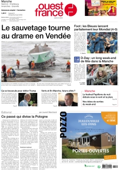 Ouest France St Lô - Coutances - Cherbourg