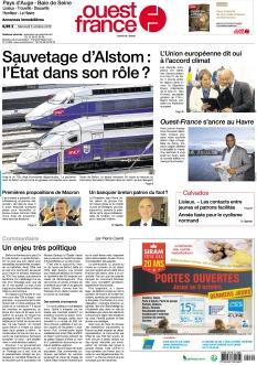 Ouest France Normandie Seine-Maritime - Normandie édition |