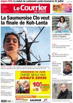 Le Courrier de l'Ouest Saumur