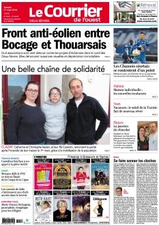 Le Courrier de l'Ouest Deux-Sèvres
