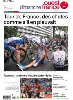 Jaquette Dimanche Ouest France Ille-et-Vilaine