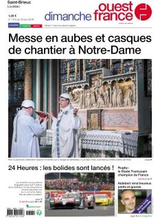 Couverture de Dimanche Ouest France Saint-Brieuc