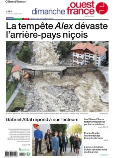 Jaquette Dimanche Ouest France Saint-Brieuc