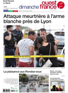 Jaquette Dimanche Ouest France St-Nazaire La Baule