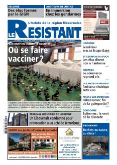 Jaquette Le Résistant