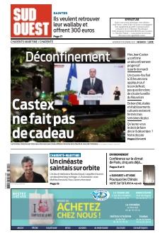 Jaquette Sud Ouest Charente