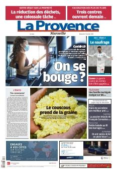 La Provence Dimanche Marseille |