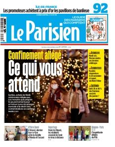 Couverture de Le Parisien Hauts-de-Seine