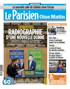 Jaquette Le Parisien Oise