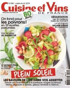 Couverture de Cuisine et Vins de France