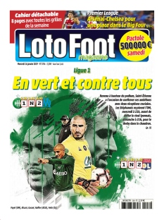 Jaquette Loto Foot magazine