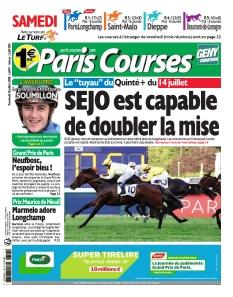 Jaquette Paris Courses