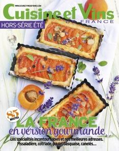 Jaquette Cuisine et Vins de France Hors-Série