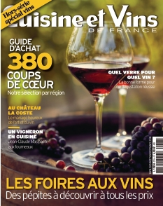Cuisine et Vins de France Hors-Série Vins |