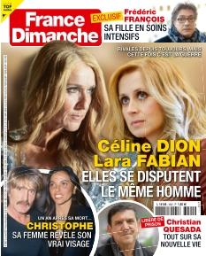 Couverture de France Dimanche
