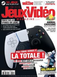 Couverture de Jeux Vidéo Magazine