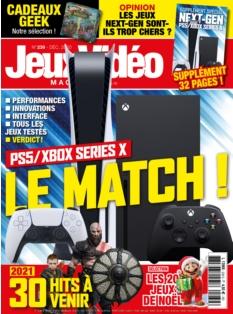 Jaquette Jeux Vidéo Magazine