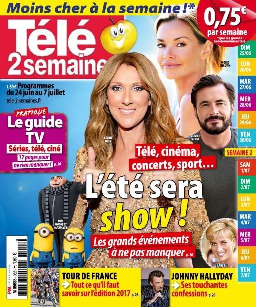 abonnement magazine télé 2 semaines