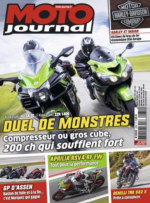 abonnement magazine moto journal